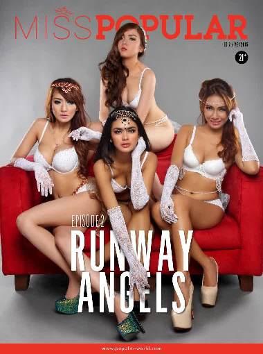 Miss POPULAR Magazine - Ed 02, Mei 2015 Episode 2 : Runway Angels (Shela Nadine, Atria Loni, Rhere Valentina, dan Putri Zairah) | www.zone.downloadmajalah.com