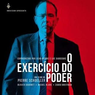 """Poster do filme """"O Exercício do Poder"""""""