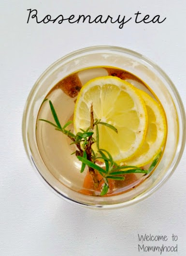 An easy and delicious herbal tea recipe! {Welcome to Mommyhood} #paleo, #tea, #herbaltea