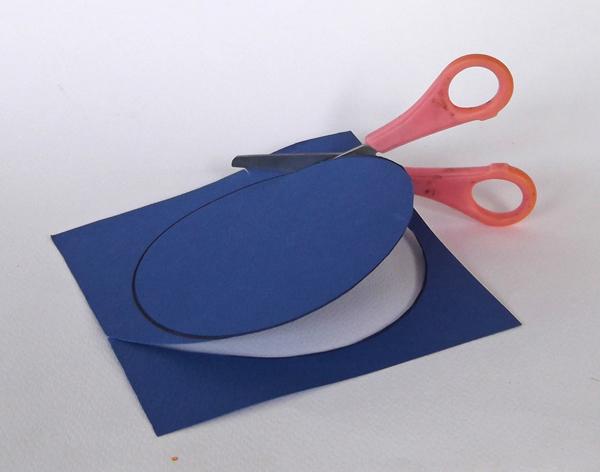 cut a circle, make a paper circle,