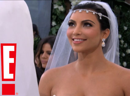 Kim+Kardashian+E+wedding
