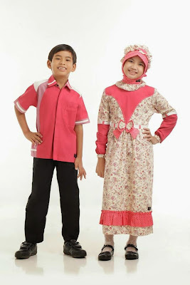 Model baju gamis anak untuk lebaran terbaru