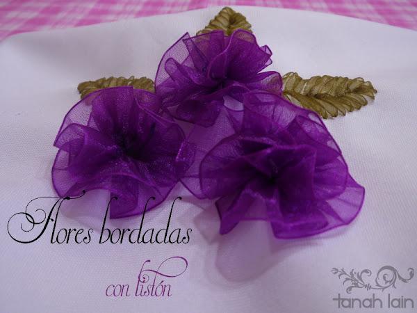 Imagenes De Flores Hechas Con Liston - las rosas en bordado con liston taller creativo
