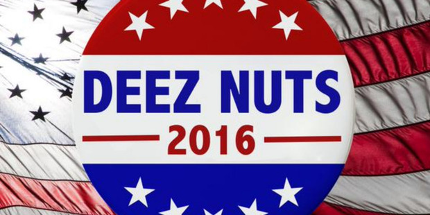 US presidential candidate, 'Deez Nuts' polling 9 per cent in North Carolina