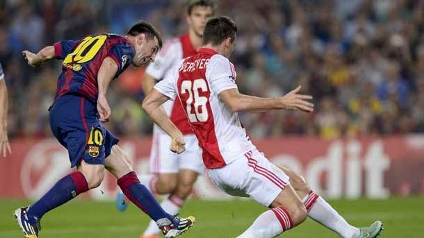Messi fue sustituido ocho meses después