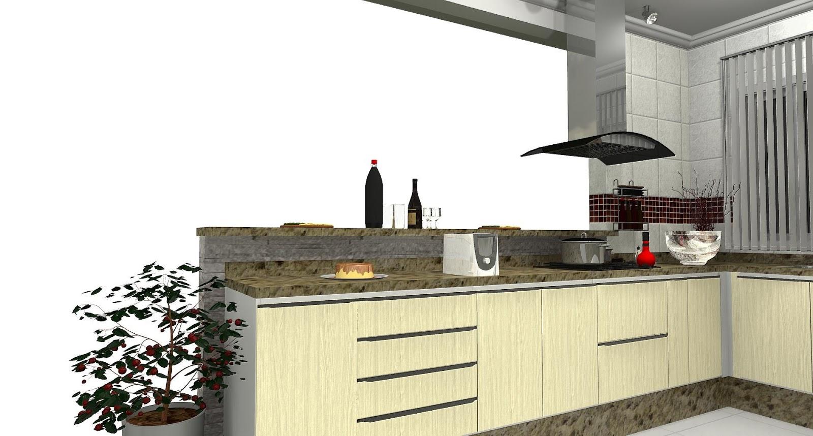 PROJETO DESIGN DECORAÇAO: cozinha com passa prato #C50606 1600 858