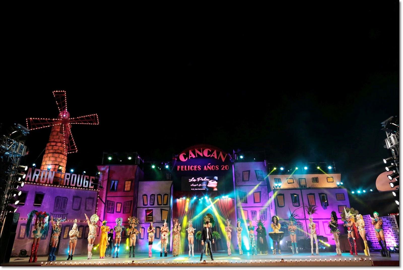 Ver en vivo gala drag queen 2015 Carnaval Maspalomas, Gran canaria