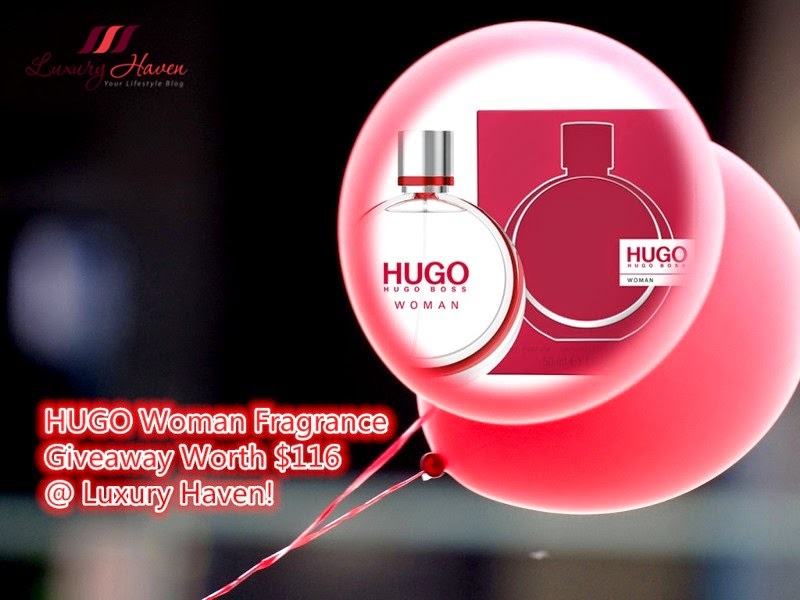 Win HUGO Woman Fragrance Worth $116 at Luxury Haven!