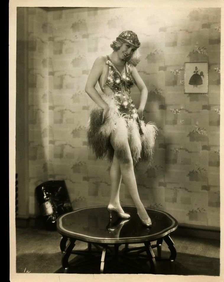 American Actress Bessie Love in Costume