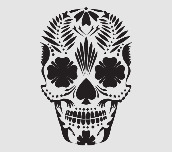 Gallery funny game mexican day of the dead skull tattoo for Day of the dead skull tattoo