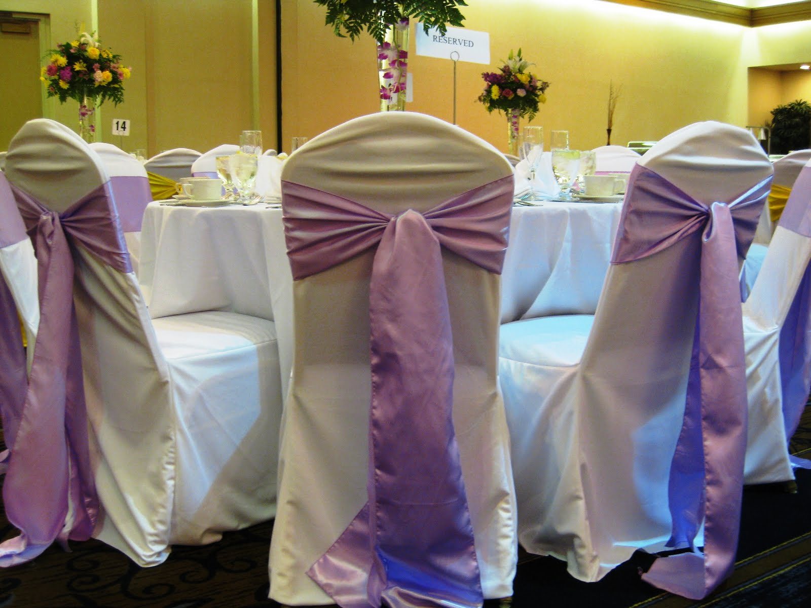 Orange County Wedding Chair Covers Rental Sash colors