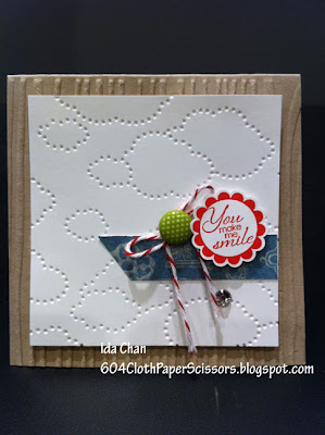A Round Array card by Ida Chan Stampin' Up! Vancouver