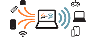 connectify WiFi Hotspot software