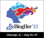 SPONSOR ME AT BlogHer '13