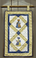 Market Day Sunbonnet Sue Wall Hanging Pattern