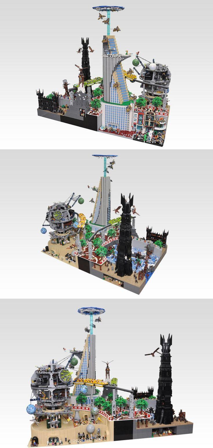 57 criativas e impressionantes esculturas com Lego