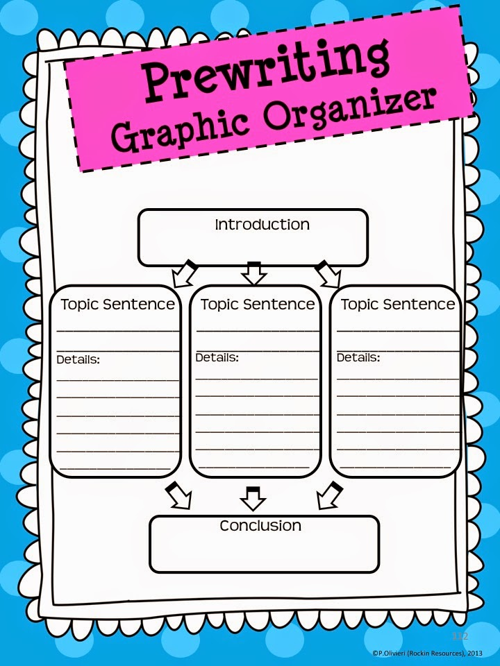 graphic organizers essay writing Improve your essay writing skills through the use of graphic organizers order your thoughts and structure your essay before you even write it order your thoughts and structure your essay before you even write it.