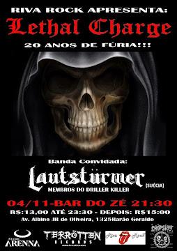 Lautstümer Tour Brazil 2011 (Campinas/SP)