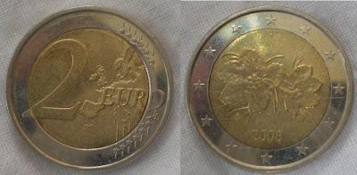 finland 2 euro 2008