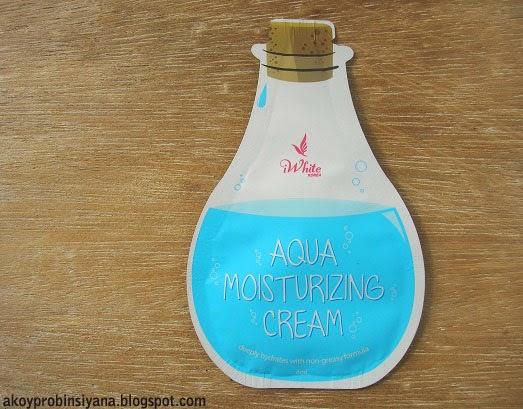 Aqua Moisturizing Cream Sachet