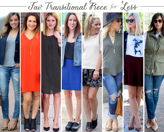 Bloggers Who Budget Transitional Pieces
