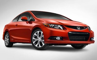 honda civic si coupe 2012 sunburst orange pearl
