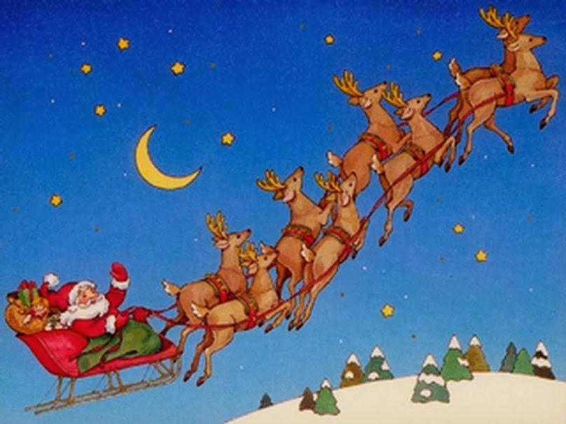 santa reindeer | santa reindeer sleigh |santa reindeer ...
