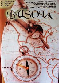 "Coperta 1 a revistei ""Busola"", Anul II,nr. 2, 2011..."