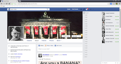 Hitler's facebook page