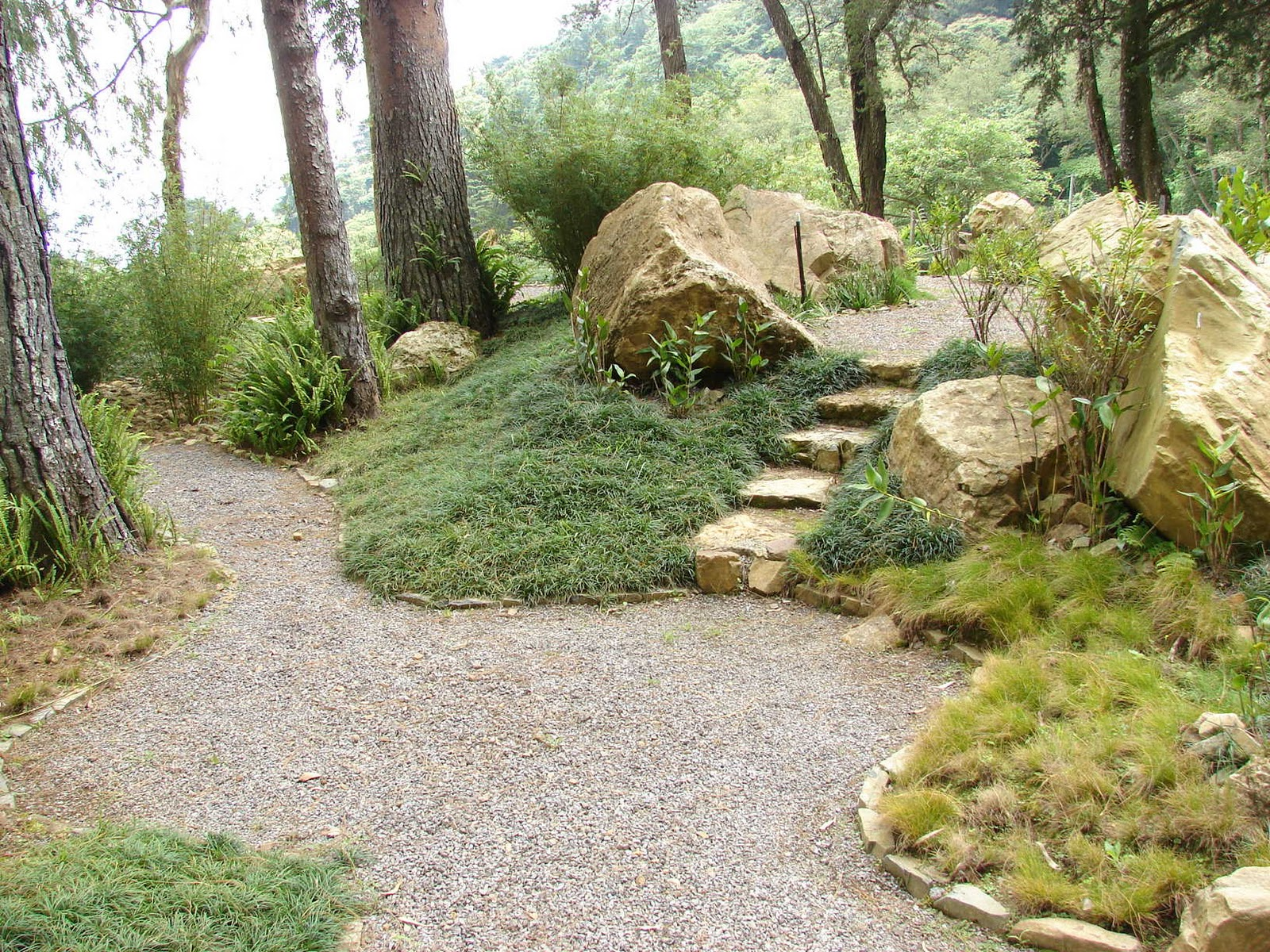 Paisajismo pueblos y jardines las coberturas los for Bolsa de piedra para jardin