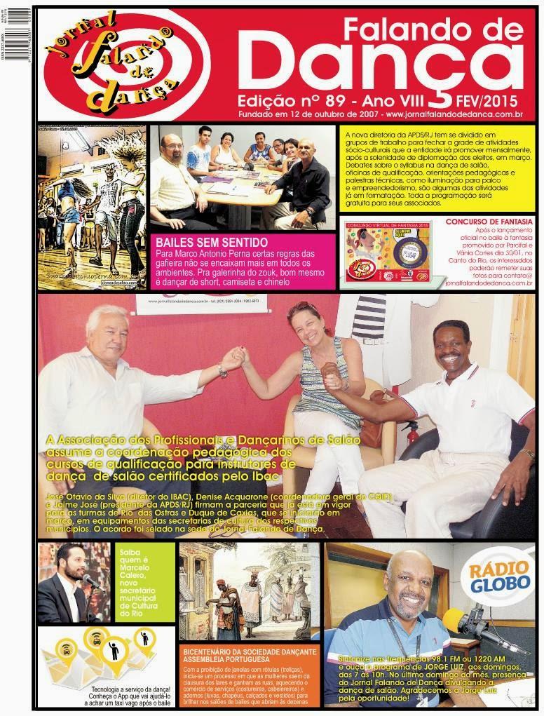 Leia on line a ed 89 (Fevereiro/2015)