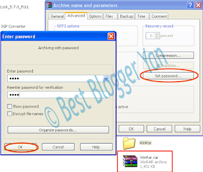 Protect Your Folder With Password|BestBloggerYan
