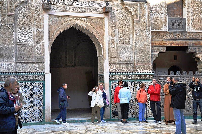 Imagen Madrasas Arquitectura Islámica Medrasa+Bou+Inania+Fes+10