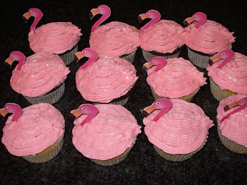 Ashleigh's Flamingo Cupcakes