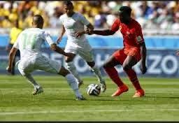 Algerie 1 - 2 Belgique