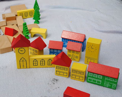 70s building block town