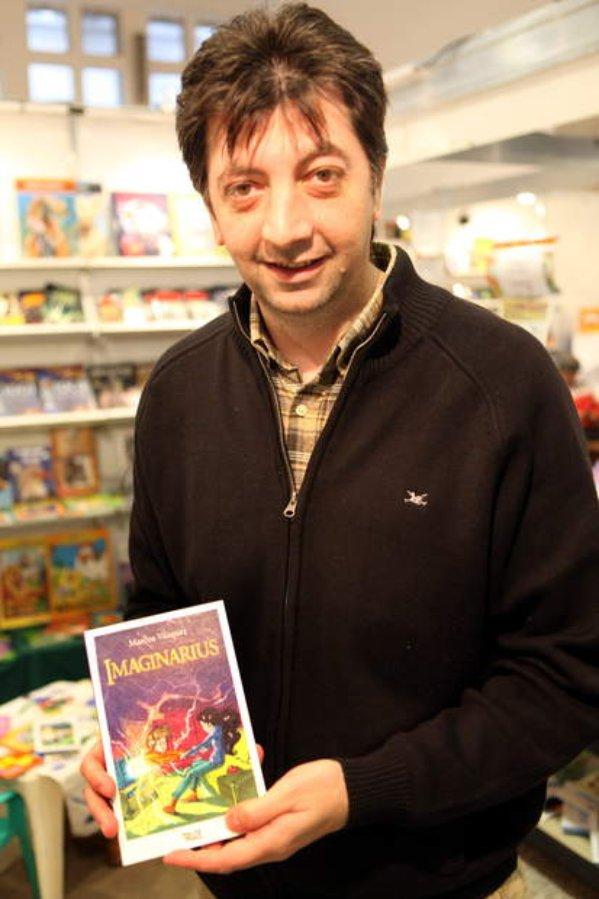 Entrevista a Marcos Vázquez (Autor de Imaginarius) - Hojas Mágicas