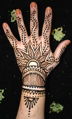 Eid Mehndi Designs Collection - islamic art-5