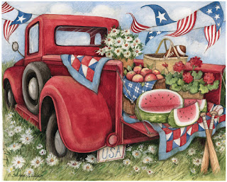Susan Winget Little Red Truck