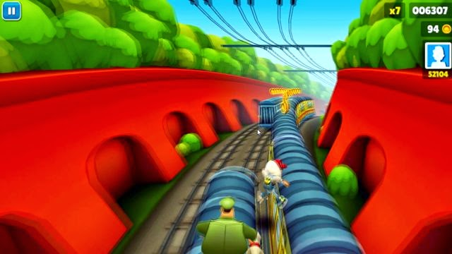Free Subway Surfers PC Games