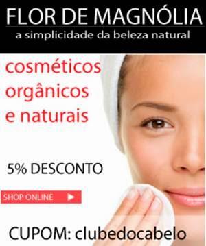 Cosméticos Naturais e Orgânicos