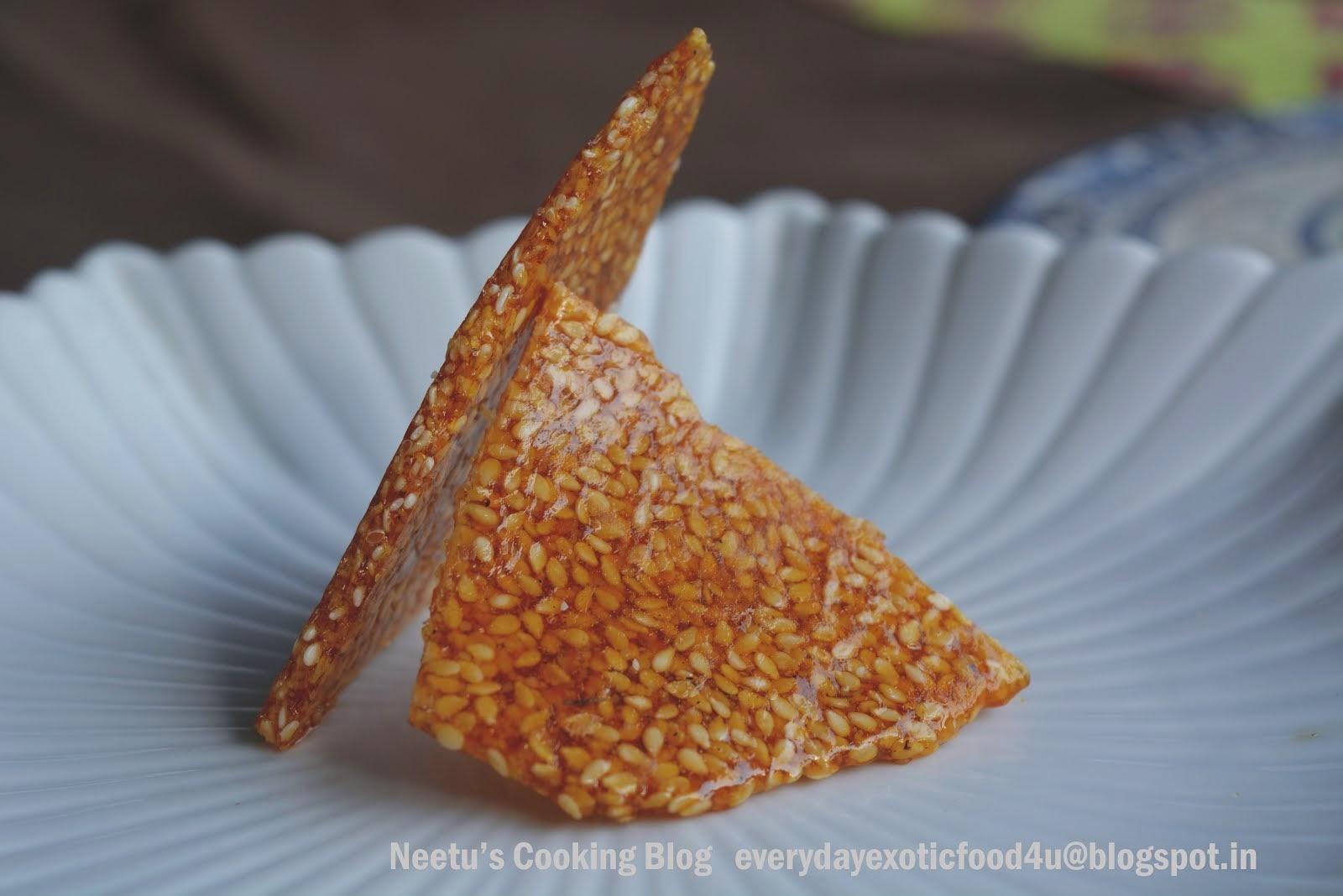 Sesame Crackers/Til Ki Chikki