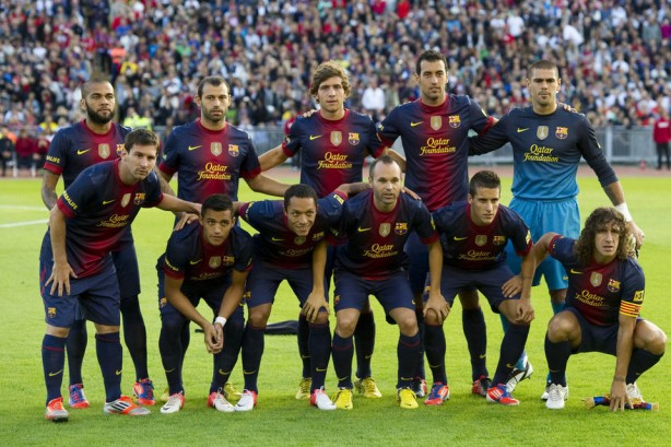 FC Barcelona 2012 2013