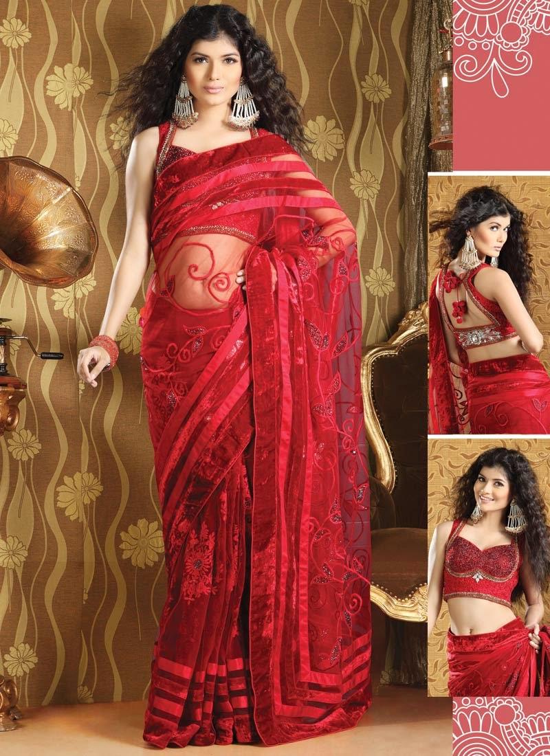http://www.cbazaar.com/party-wear-saree/embroidered-net-sarees/stunning-red-saree-p-sakaas2101.html