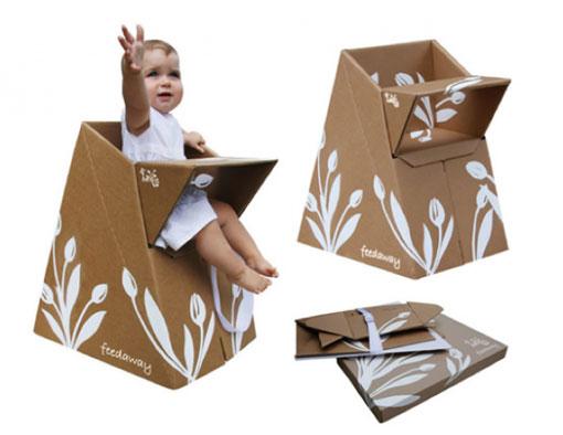 I d e a espacio cocina tronas para beb s for Sillas para comer ninos 3 anos