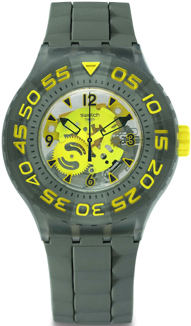 Swatch Scuba Libre CUTTLEFISH Price Rs 4580