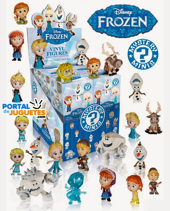 Mini Figuras Frozen Funko