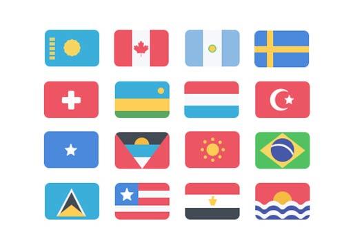 ikon, ikon indir, bayrak psd, bayrak png, bayrak seti indir, bayrak ikon indir, bayrak vektör indir, ülke bayrakları seti indir,