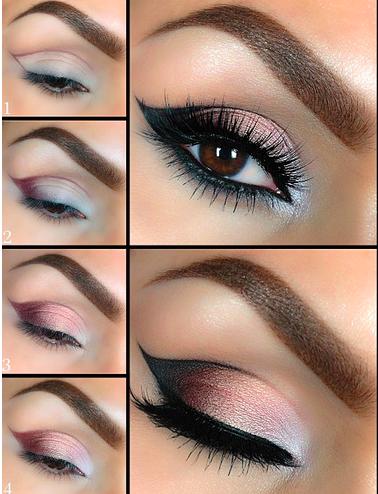 Step By Step Eye Make Up Tutorials