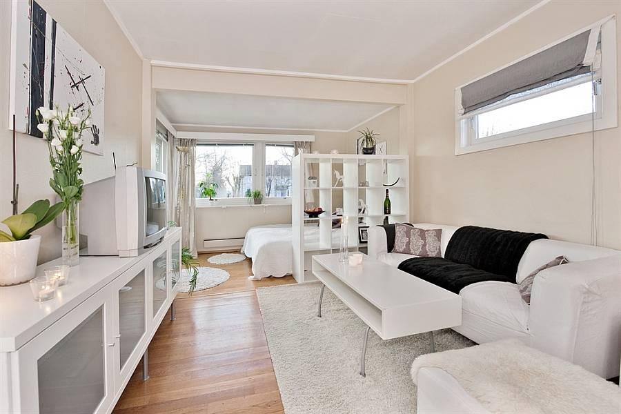 decoracao kitnet estudante:Apartamento alugado para estudantes, como decorar? – Apê em
